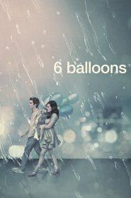 6 balonów
